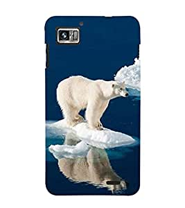 Vizagbeats polar bear Back Case Cover for Lenovo 860