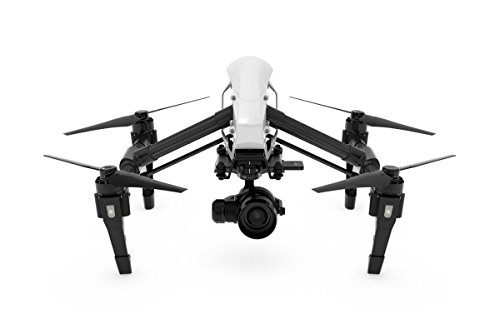 DJI CP.BX.000088 Inspire 1 Raw - Dual Remote with Zenmuse X5R Micro Four Thirds Aerial Camera (Black/White)