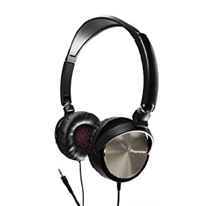 Pioneer DJ-Inspired SE-MJ71-S Steel Wheels Headphones (Silver)