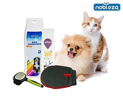 nobleza-pack-para-perros-pelo-cuidado-contenido-champu-para-perros-acondicionador-cepillo-y-guante-d