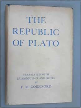 The republic of plato francis macdonald cornford