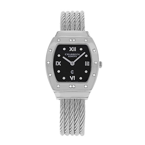 Charriol Azuro AZURTD.540.905R Stainless Steel Quartz Ladies Watch