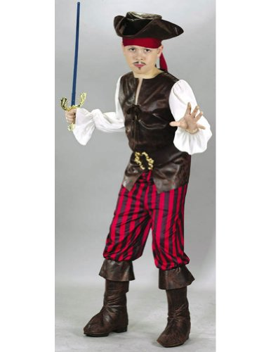 boys - High Seas Buccaneer Child Small Halloween Costume