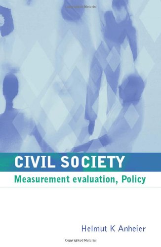 Civil Society: Measurement, Evaluation, Policy front-981720
