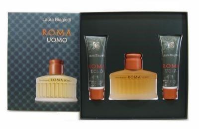 roma-uomo-par-laura-biagiotti-set-avec-gel-douche-75-ml-2x50ml