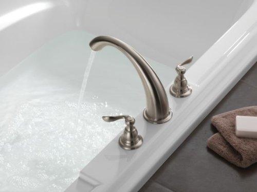 Delta BT2796-SS Stainless Roman Tub Trim Faucet