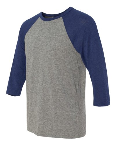Bella + Canvas Adult 3/4 Sleeve Blended Baseball Tee