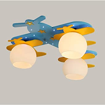 3 lights airplane led kid s room ceiling ls