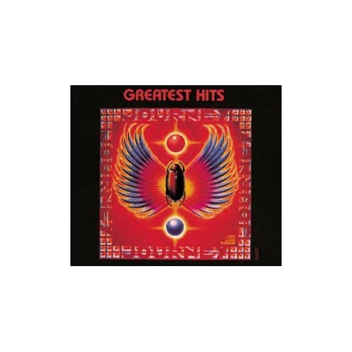 journey greatest hits logo. journey greatest hits cover.