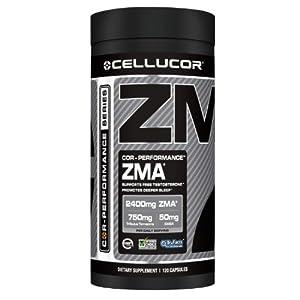 Cellucor ZMA Capsules, 120 Count