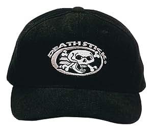 Dead On DOH-B Skull and Crossbones Hat, Black