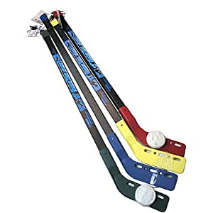 Bulk Buys Toy hockey stick with puck Case Of 24 by DDI