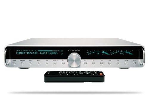 Logitech 930-000012 Transporter Network Music Player (Silver) (Discontinued by Manufacturer)