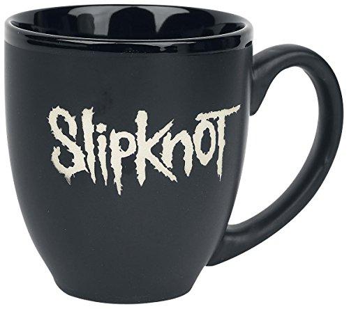Slipknot Classic Band Name White Logo Black Tea Coffee Boxed Gift Mug Official