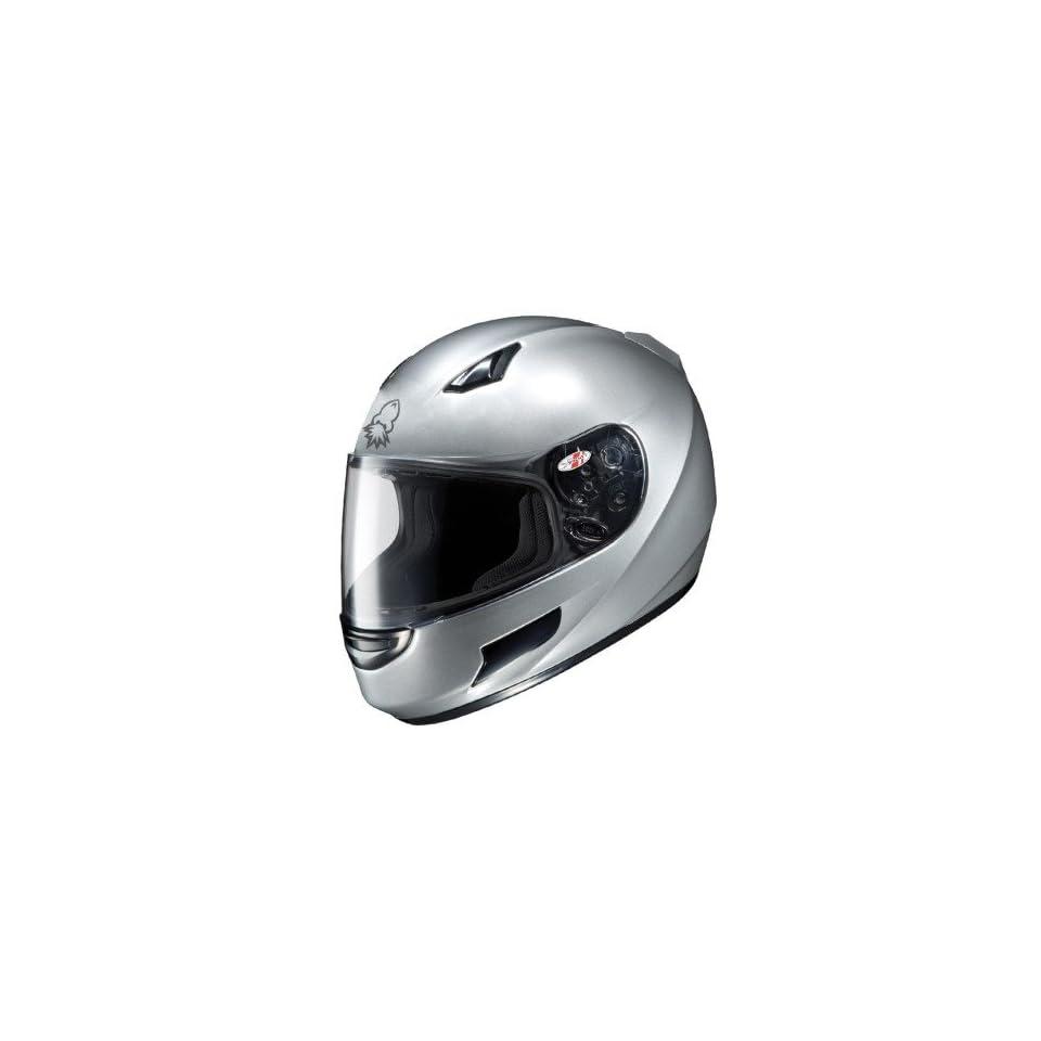 Joe Rocket RKT Prime Silver Full Face Helmet