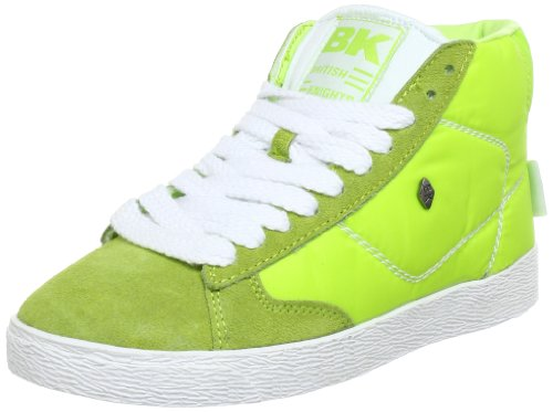 British Knights Unisex - Adult TYPHOON MID High Top Yellow Gelb (lime 1) Size: 37