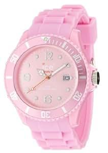 ICE-Watch - Montre Mixte - Quartz Analogique - Ice-Forever - Pink - Big - Cadran Rose - Bracelet Silicone Rose - SI.PK.B.S.09