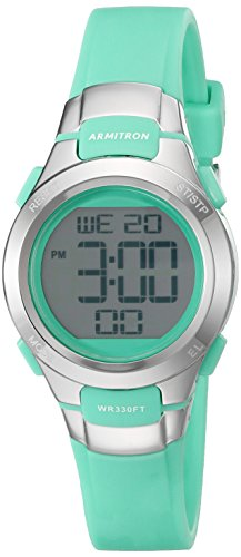 armitron-sport-womens-45-7012tel-digital-chronograph-teal-resin-strap-watch