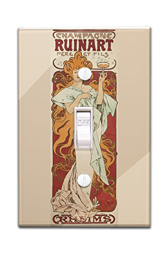 champagne-ruinart-vintage-poster-artist-mucha-alphonse-france-c-1896-light-switchplate-cover