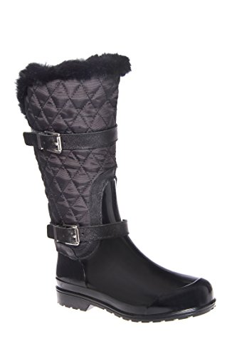 Fulton Quilted Mid Calf Rain Boot