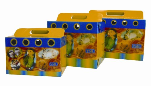 Brand New Lot of 50 Pet Parakeet Bird Cage Cardboard Carrier 8103