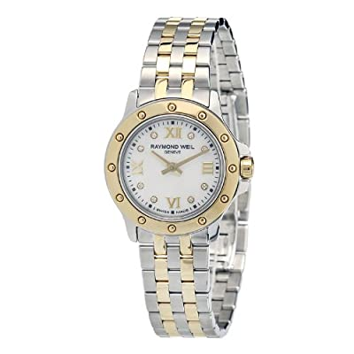 Raymond Weil Women's 5799-STP-00995 Diamond-Accented Two-Tone Stainless Steel Watch