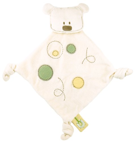 Dandelion Organic Toy Bear Blanket (Discontinued by Manufacturer)