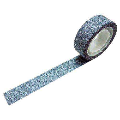 グリッターテープ プレーンライトブルー