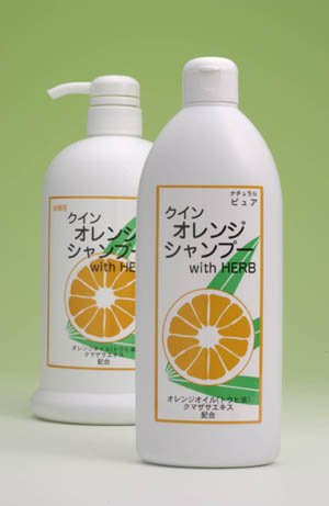 自然派クインオレンジシャンプーWith Herb 400ml
