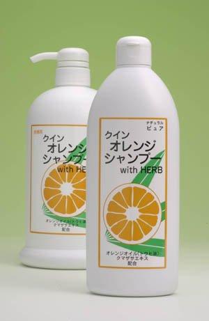 自然派クインオレンジシャンプーWith Herb お徳用 1000ml