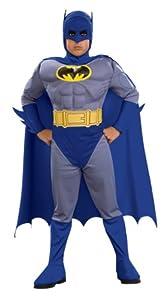 Déguisement Batman™ musclé garçon - 3 à 4 ans