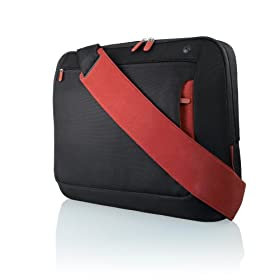 Belkin 15.4-Inch Messenger Bag (Jet/Cabernet)