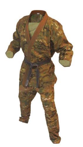 MultiCam Combatives gi for BJJ, Jiu Jitsu, Judo, MACP (Size A1) by Combatives Gear