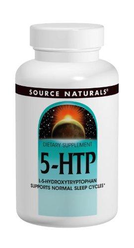 Source Naturals 5-HTP, 100mg, 120 Capsules
