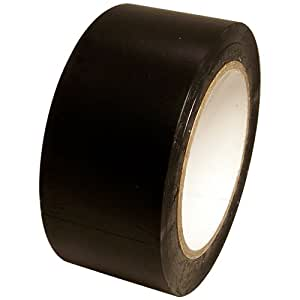 "Vinyl Marking Tape 2"" x 36 yards several colors to choose from, Black"