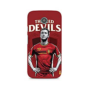 Ebby The Red Devils Premium Printed Case For Moto X