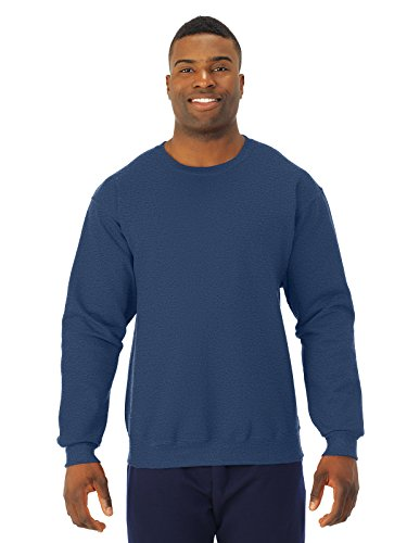 jerzees-8-oz-50-50-nublend-fleece-crew-vintage-hth-navy-xl