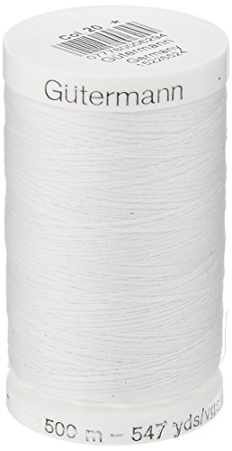 Sew-All Thread 547 Yards-Nu White (Sewing Machine Thread Guterman compare prices)