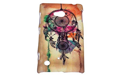 Dream Catcher Designer Print Snap-On Hard Slim Back Flexible Bumper Case Cover For Nokia Lumia 720