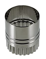 パール金属  EEスイーツ ステンレス製 ウェーブラウンド両用 抜き型 5cm D-4893