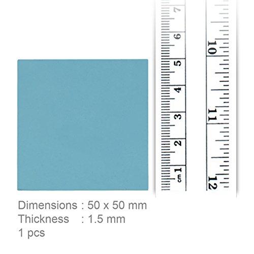 Arctic Thermal Pad (50 x 50 x 1.5 mm) - Pad Termico a Base Di Siliconi Con Conducibilità a 6,0 W/mK e Durezza Particolarmente Bassa