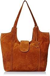 Alessia74 Women's Handbag Tan (PBG406B)
