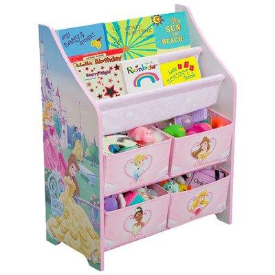 Disney Princess Book and Toy Organizer - Princess Book And Toy Organizer