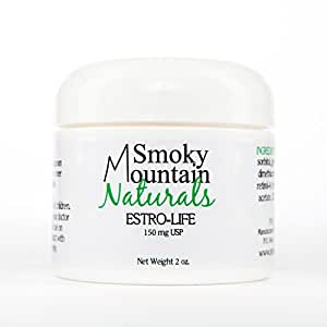 Natural Estrogen/Estriol Cream (Bioidentical) 2 Oz. 150 Mg. (For Wrinkles, Vaginal Dryness, Hot Flashes, Mood Swings, and Other Effects of Menopause)