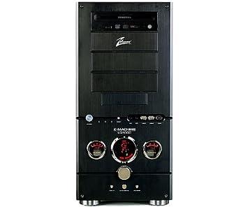 Zalman LQ1001 Boîtier pour PC sans alimentation Noir