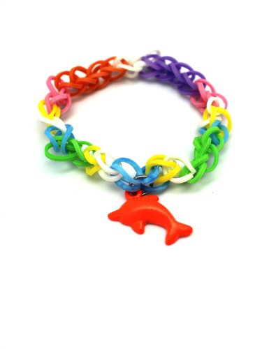 Rainbow loom dolphin - photo#32
