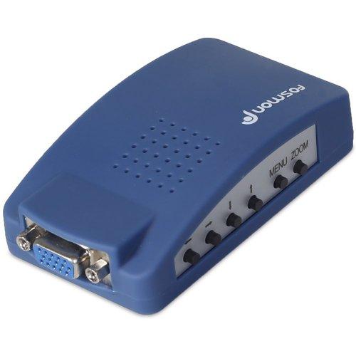 Fosmon Hd1882 Pc To Tv Video Vga To Rca Converter Box