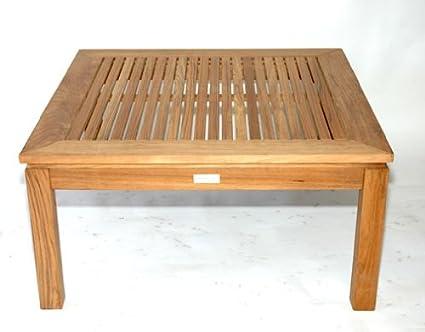 Teak Square Coffee Table large - 6045
