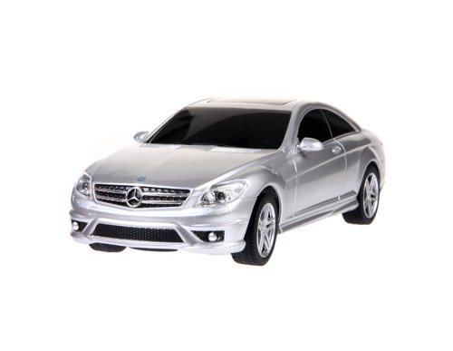 RASTAR Benz CL63AMG 34200 1:24 6 Channel Remote Control Car Model (White)