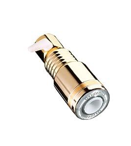 Oxygenics 63121 SkinCare Showerhead, Gold